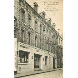 02 SAINT-QUENTIN. Restaurant Hôtel de France et d'Angleterre 28 rue Emile Zola