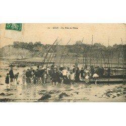 80 AULT. Un Filet de Pêche pour Poissons. Publicité bouillon Kub verso