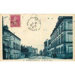 93 BAGNOLET. La Rue de Pais 1935