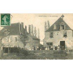18 BIGNY. Réunion de Famille devant la Petite Forge 1908