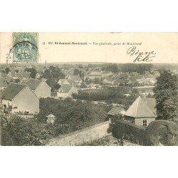 18 SAINT-AMAND-MONTROND. Le Village 1907