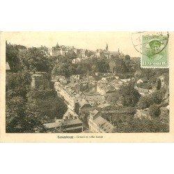 LUXEMBOURG. Grund et Ville haute 1931