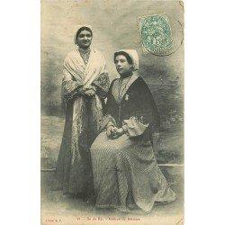 17 ÎLE DE RE. Groupe de Rétaises 1907