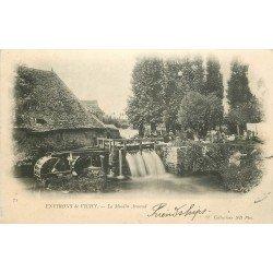 03 VICHY. Le Moulin à Eau Arnaud 1902 et l'Ecluse