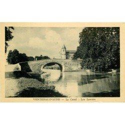 11 VENTENAC-D'AUDE. Les Lavoirs sur le Canal
