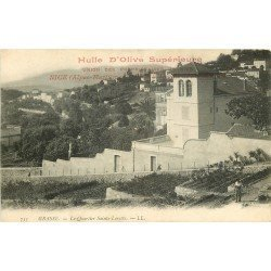 06 GRASSE. La culture de l'huile d'Olive dans le Quartier Sainte-Lorette pour Nice