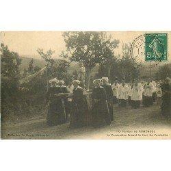 29 Pardon de RUMENGOL. La Procession faisant le tour de l'enceinte 1911
