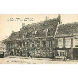 59 MONT-CASSEL. Hôtel de la Noble Cour ou Mairie 1928