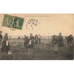 50 GOUVILLE. La Pêche aux Lançons 1923. Métiers de la Mer