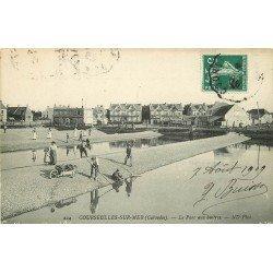 14 COURSEULLES-SUR-MER. Le Parc à Huîtres 1909. Métiers de la Mer