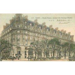 WW PARIS VIII. Elysée Palace Avenue des Champs-Elysées avec Fiacres