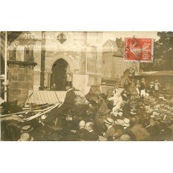 03 MOULINS. Couronnement de la Vierge Noire en 1910. Photo de Larivaud