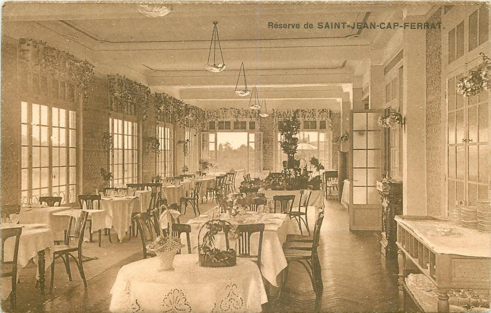 06 SAINT-JEAN-CAPE-FERRAT. La Réserve Namouna Restaurant