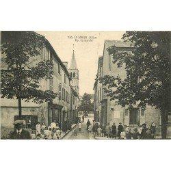 WW 03 LE DONJON. Animation rue du Marché 1917