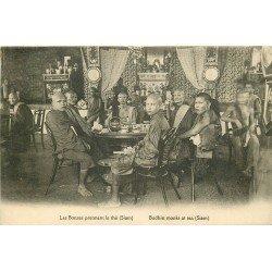 WW THAILANDE SIAM. Les Bonzes prennent le Thé 1923