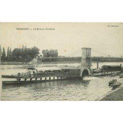 WW 01 THOISSEY. Le Bateau Parisien à aube