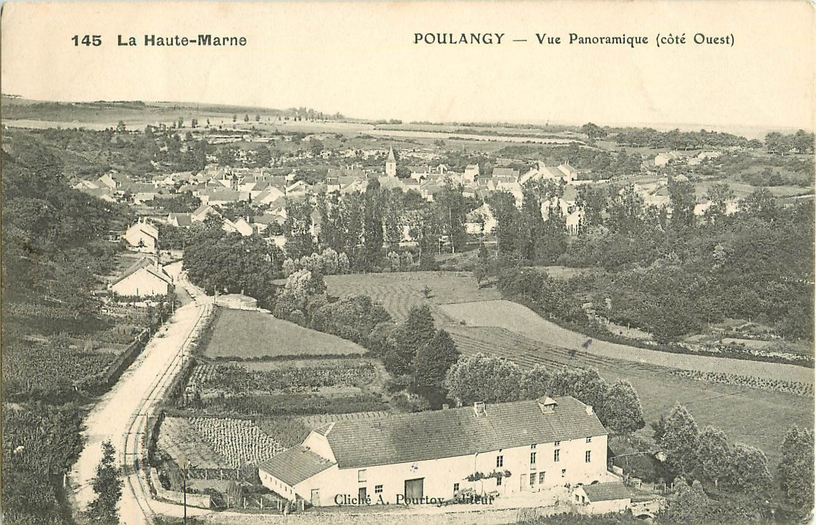 WW 52 POULANGY. Vue Panoramique 1907