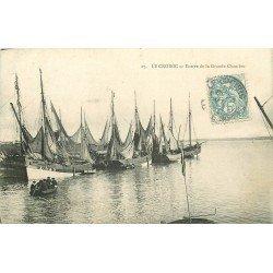 WW 44 LE CROISIC. Bateaux de Pêche à l'Entrée de la Grande Chambre vers 1905