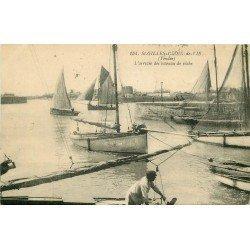 85 SAINT-GILLES-CROIX-DE-VIE. L'arrivée des Bateaux de Pêche