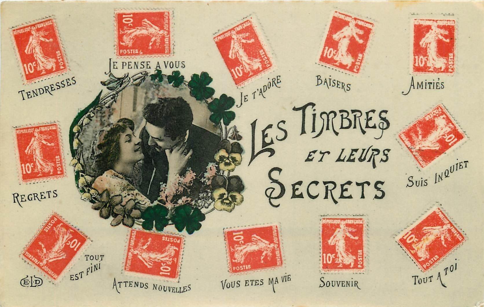 WW Langage et Secrets des Timbres 1919