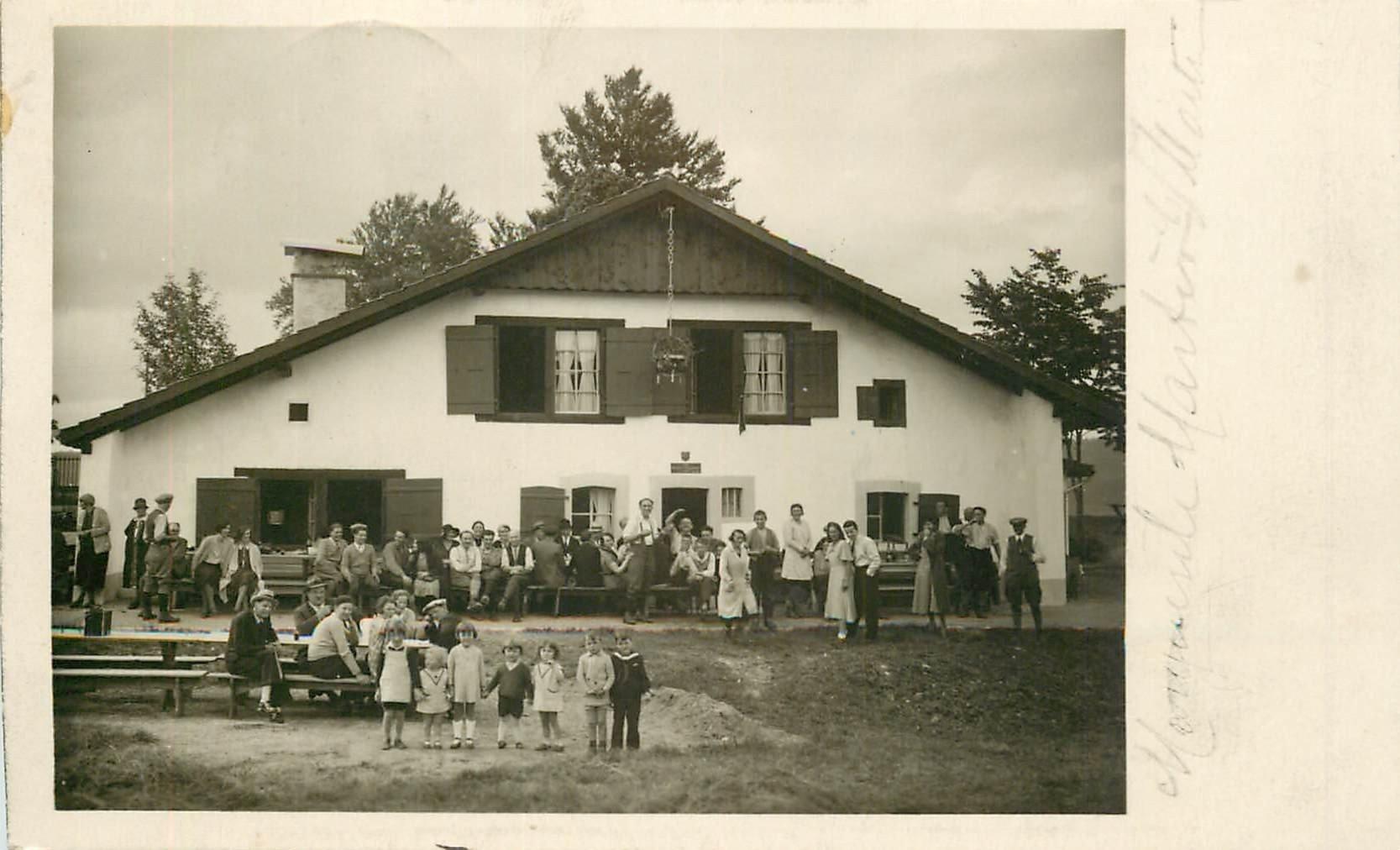 Suisse. COUVET. Propriété du Club Jurassien Section Jolimont. Les Petites Ruillères 1932