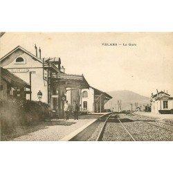 WW 21 VELARS. Les Cheminots dans la Gare grandes ligne 1915