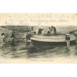 WW 14 LANGRUNE. La Pêche à la Crevette1916