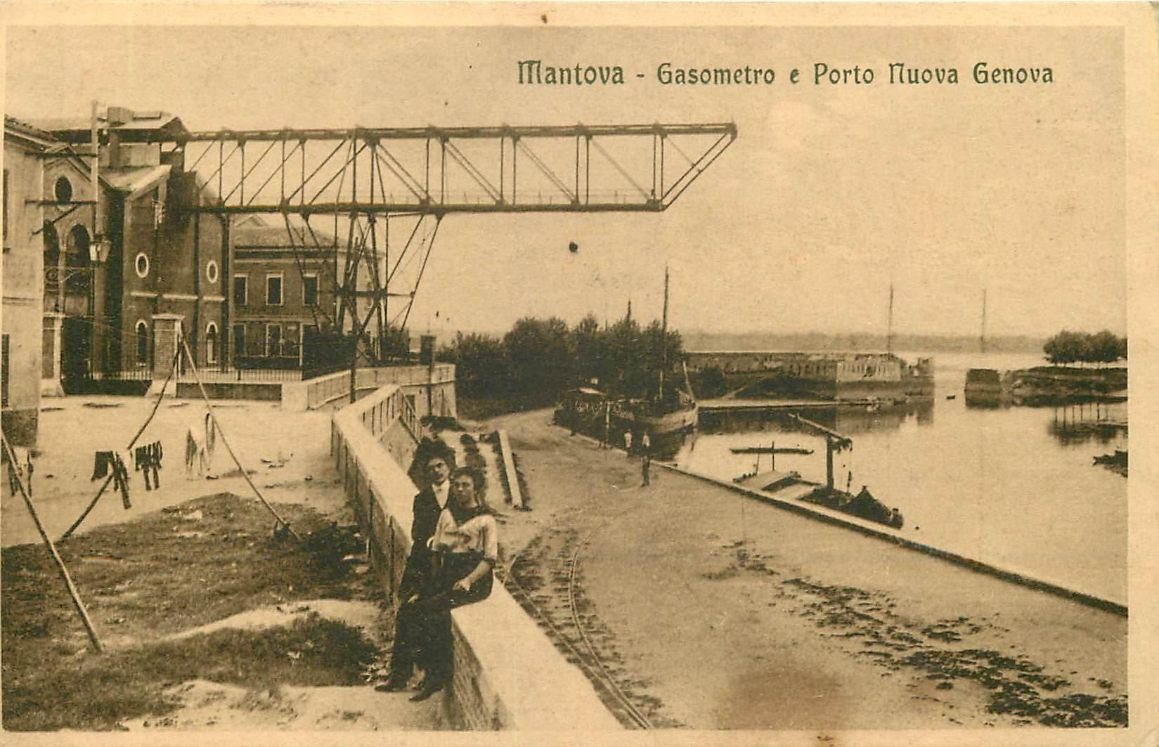 WW MANTOVA. Gasometro e Porto Nuova Genova