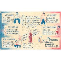 COCA COLA. Carte publicitaire Humour d'un Militaire 1940