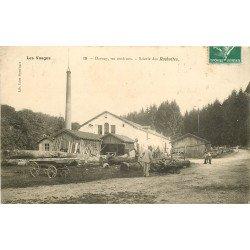WW 88 DARNEY. La Scierie des Rochottes avec ses employés 1908