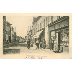 91 MONTGERON. Café Tabac Restaurant rue de Paris