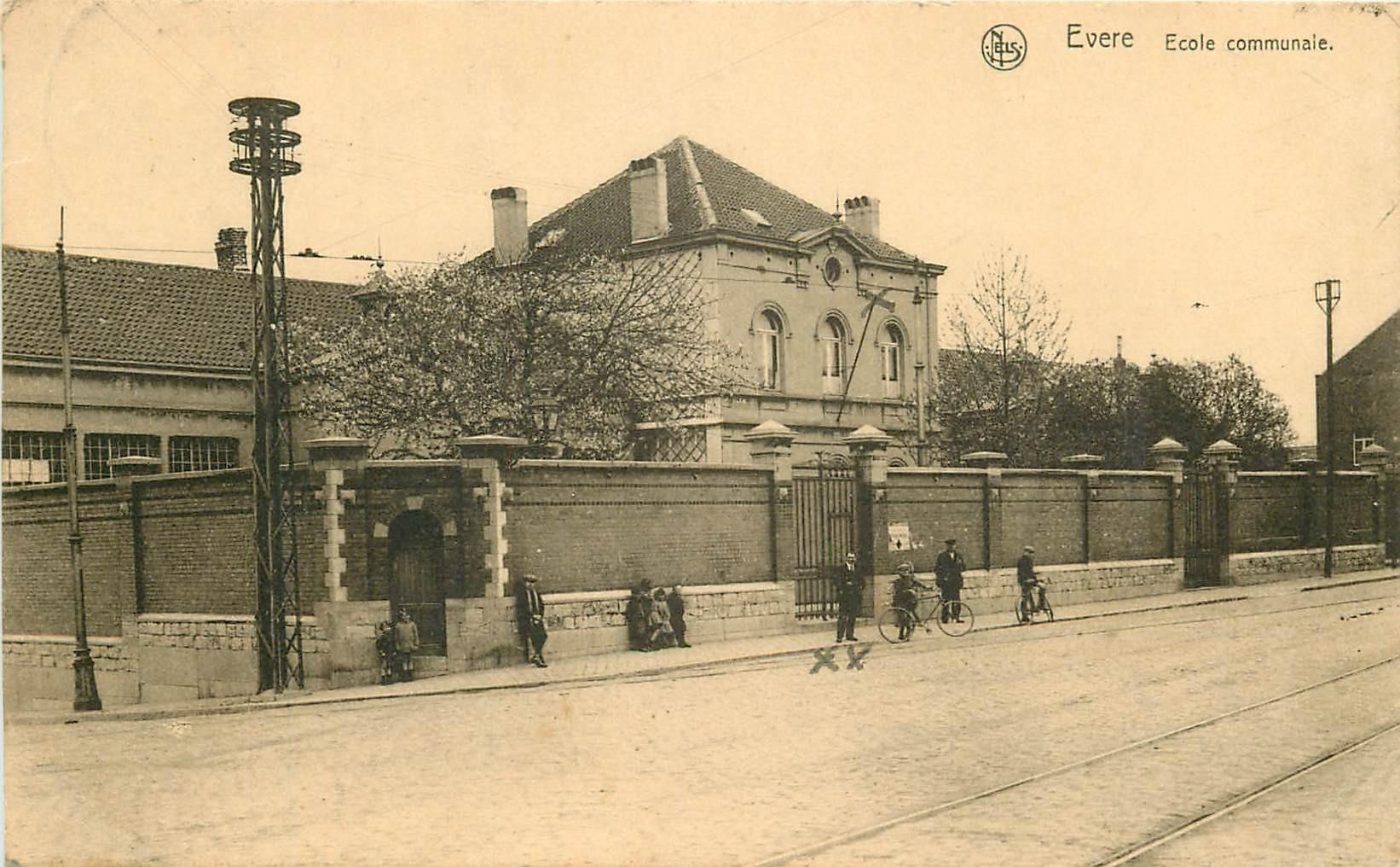 WW EVERE. Ecole Communale en Belgique 1929