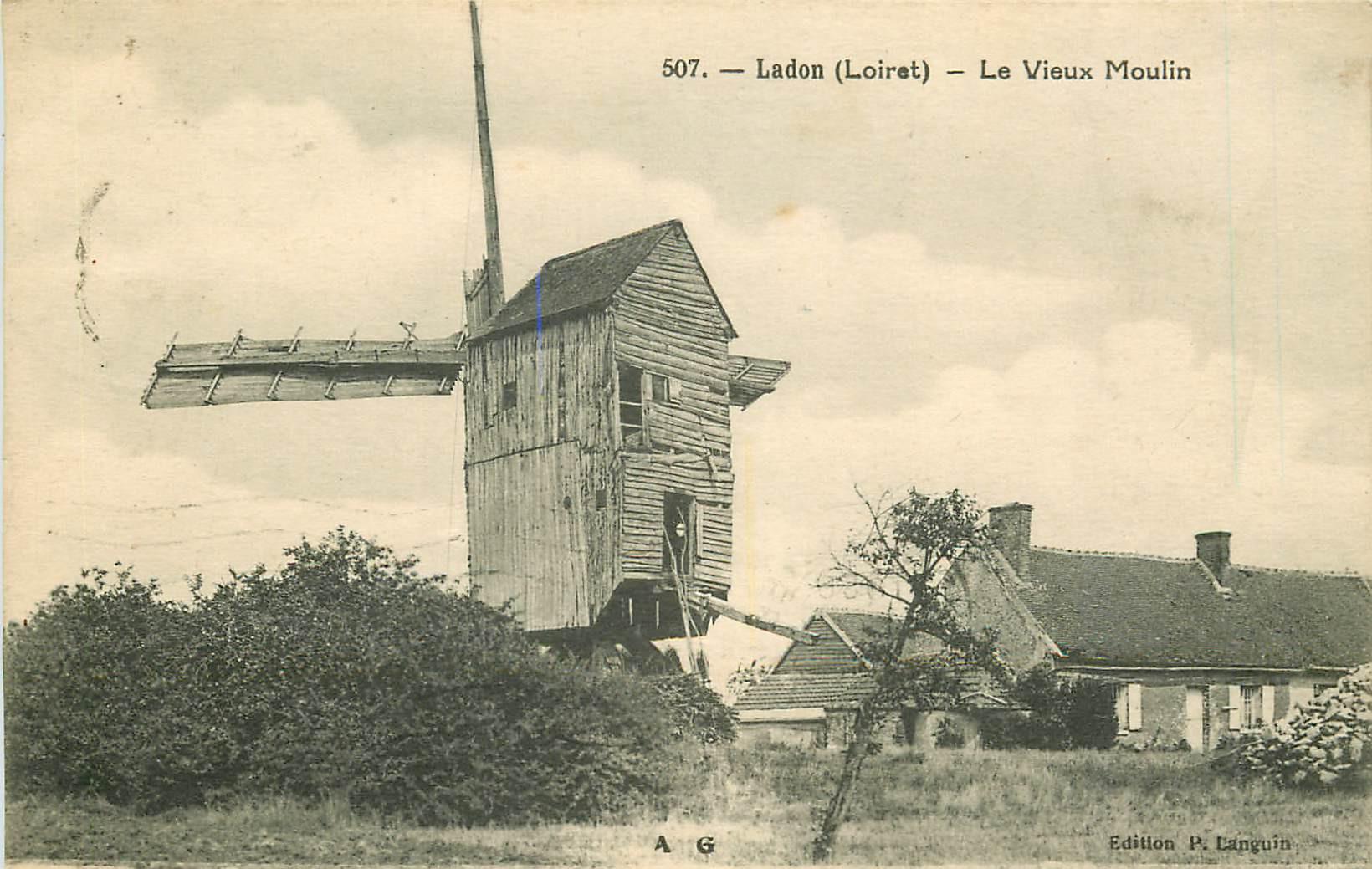 WW 45 LADON. Le Vieux Moulin à vent 1929