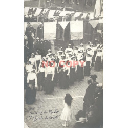 WW 03 MOULINS. Concours avec la Sainte Chorale de Cusset. Photo carte postale