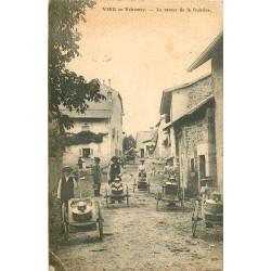 WW 01 VIEU EN VALROMAY. Le retour de la Fruitière 1908