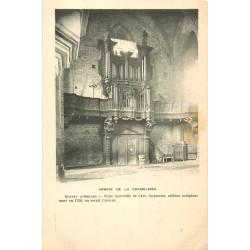 WW 43 ABBAYE DE LA CHAISE DIEU. Buffet d'Orgues vers 1900