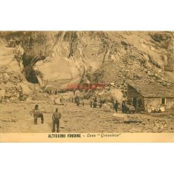 WW ALTISSIMO FONDONE. Cava Granolesa Mine de Marbre 1915