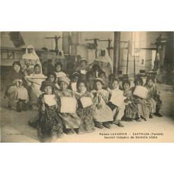 WW CARTHAGE. Maison Lavigerie Ouvroir indigène de Dentelle arabe en Tunisie