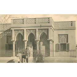 WW OUDJDA. Villa la Mine 1912 au Maroc