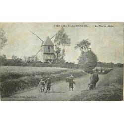 WW 60 CREVECOEUR-LE-GRAND. Le Moulin Alidor et vache