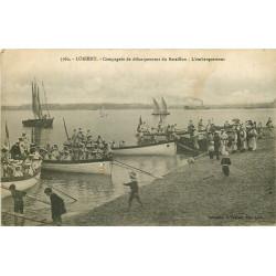 WWW 56 LORIENT. L'Embarquement de la Compagnie de débarquement du Bataillon de Marins