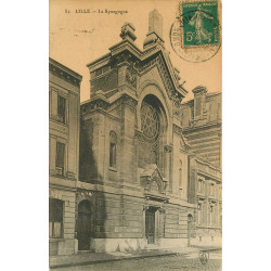 WW 59 LILLE. La Synagogue 1911
