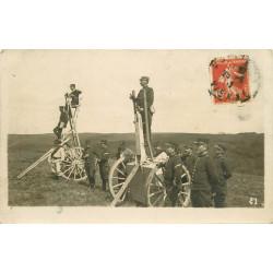 WW 86 POITIERS. Militaires en Campagne avec Périscopes mobiles vers 1911