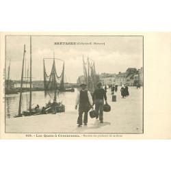WW 29 CONCARNEAU. Rentrée des Pêcheurs de Sardines vers 1900