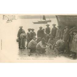 WW 29 Nos Marins Bretons préparation de la Cotriade par l'Equipage vers 1900