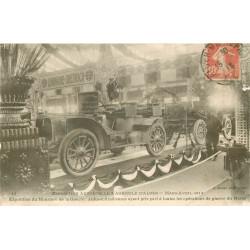 ALGER. Exposition Ministre Guerre Automobile & Agricole 1913. Autos-mitrailleuses du Maroc