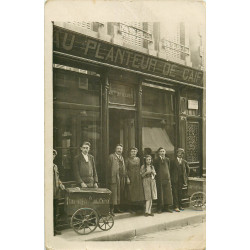 PARIS XIV. Tricycles Au Planteur de Caïffa 4 rue Delambre. Photo carte postale ancienne