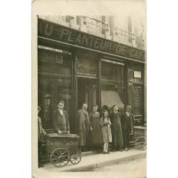 WW PARIS XIV. Tricycles Au Planteur de Caïffa 4 rue Delambre. Photo carte postale ancienne