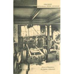 WW 52 CHAUMONT. Etablissement Lacaille. Atelier réparations des Camions Automobiles