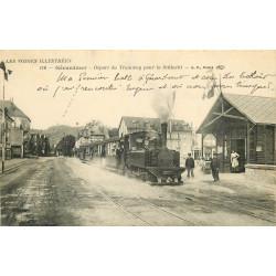 WW 88 GERARDMER. Départ du Tramway pour la Schlucht 1916